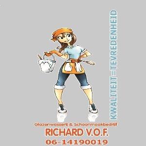 Glazenwasserij & Schoonmaakbedrijf Richard V.O.F logo