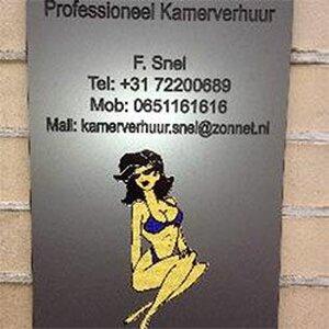 F. Snel Kamerverhuur logo