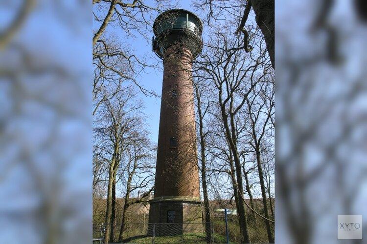 Logeren in een monument: luxe hotelsuite in de nok van de Watertoren.