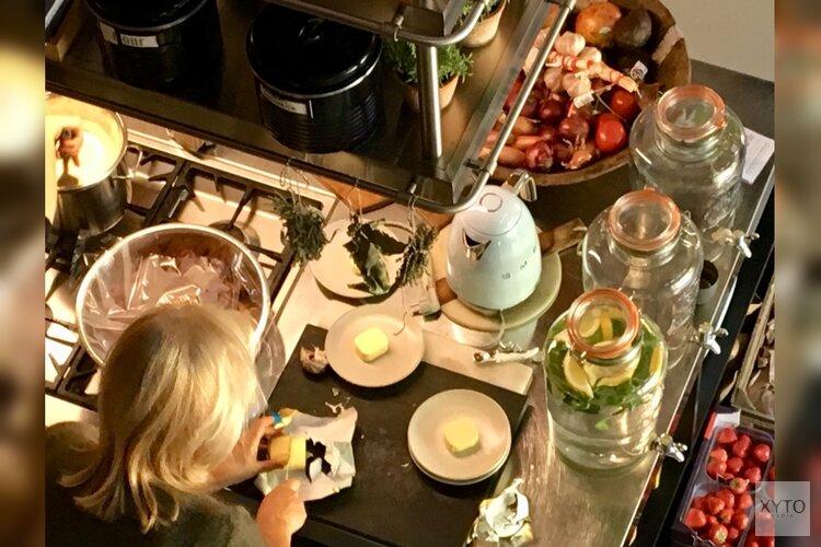 Samen-eten-tafel en contacten uitbreiden