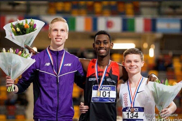 Medailles voor AVC jeugdatleten op NK Indoor U18/U20