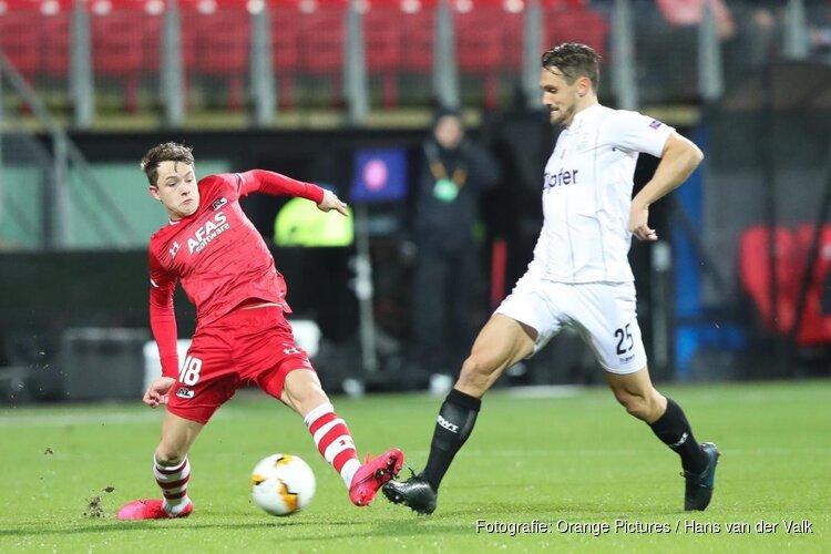AZ nog kansrijk na puntendeling tegen LASK Linz