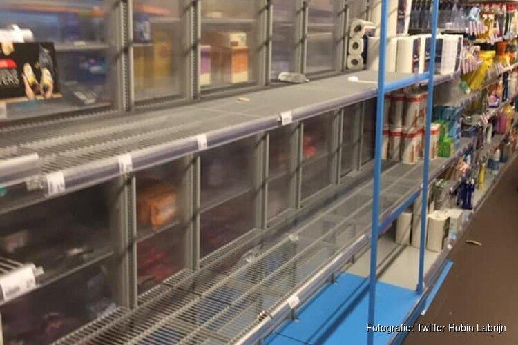 """Lege schappen in supermarkten: """"Doe normaal boodschappen"""""""