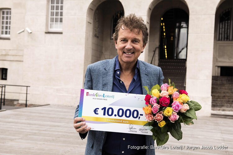 Inwoner van Castricum wint 10.000 euro in BankGiro Loterij