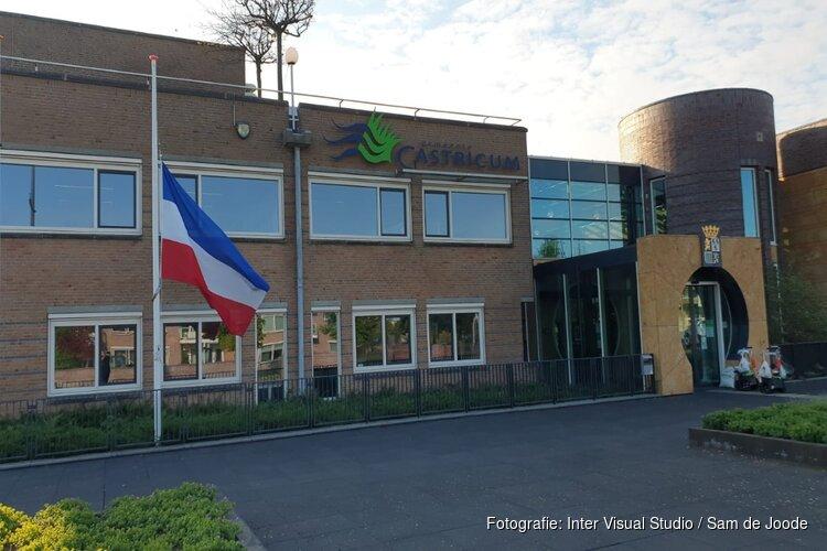 Pijnlijke blunder bij Gemeente Castricum, vlag halfstok maar ondersteboven