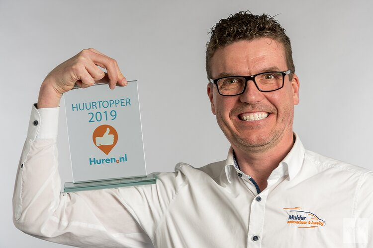 Mulder Autoverhuur & Leasing verkozen tot Huurtopper van 2019
