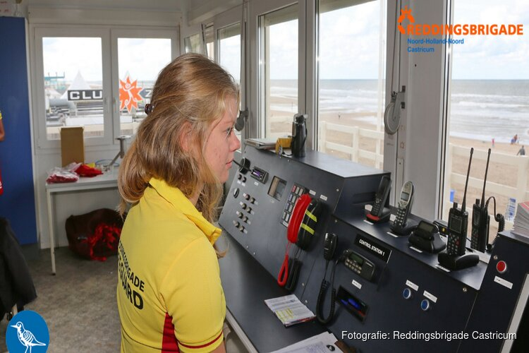 Castricumse Reddingsbrigade vanaf Hemelvaartsdag weer actief op strand