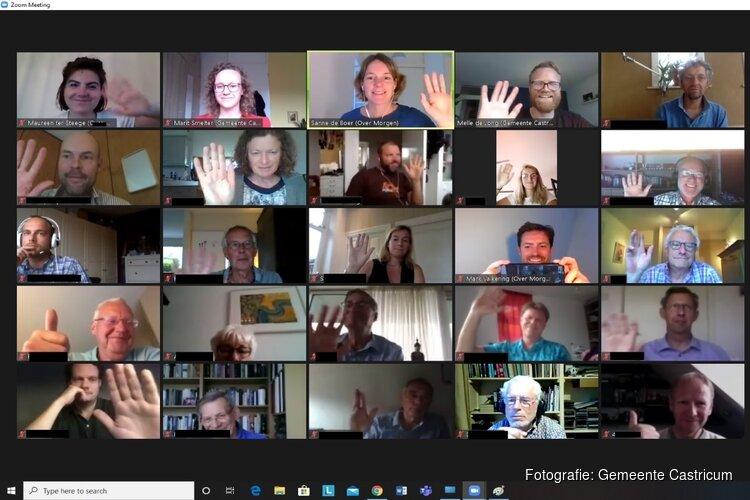 Digitale inwonersavond over Aardgasvrij Castricum druk 'bezocht'