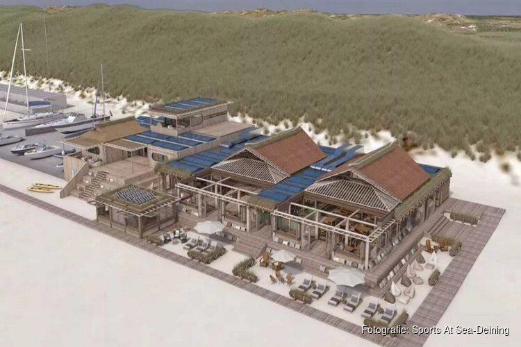 Plannen voor supersonisch strandpaviljoen Castricum aan Zee