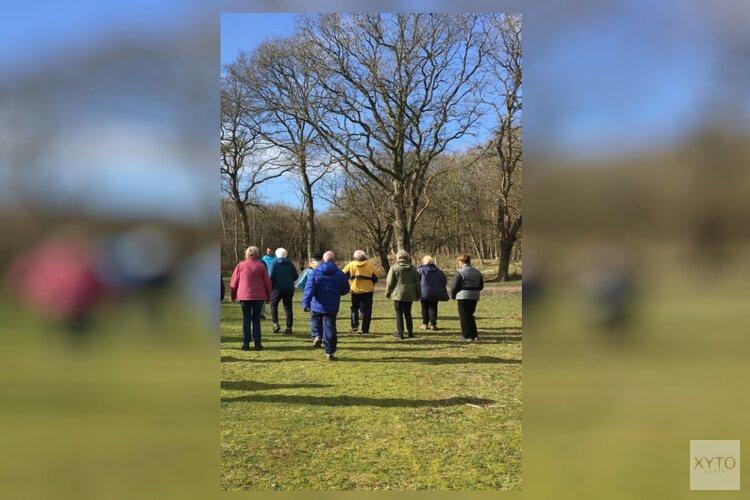 Nordic-walking, pilates en GezondOud in de buitenlucht voor 60-plussers