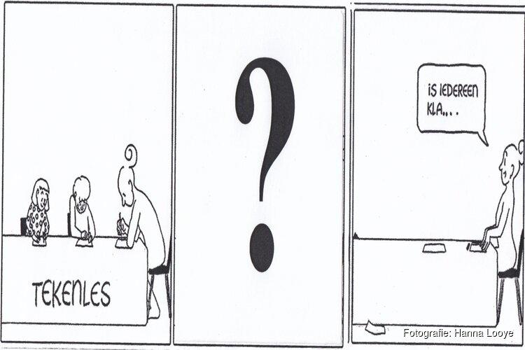 Cursus striptekenen bij Toonbeeld