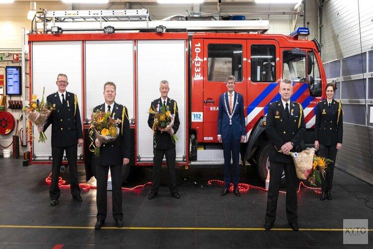 Koninklijke onderscheidingen voor brandweermannen Akersloot