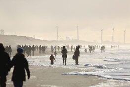 Drukte op Noord-Hollandse stranden