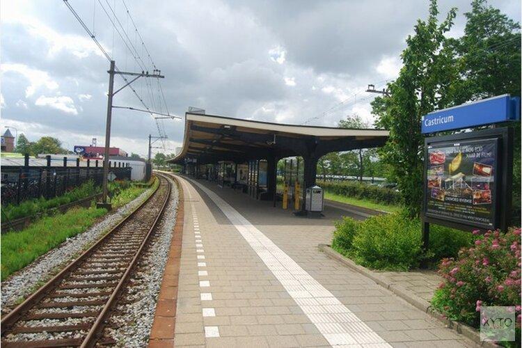 Controle op fietsen bij station