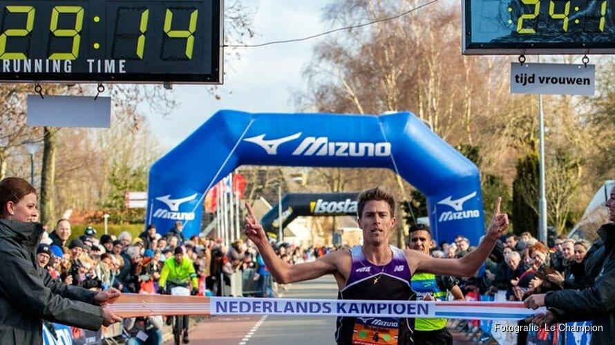 Michel Butter Nederlands kampioen tien kilometer