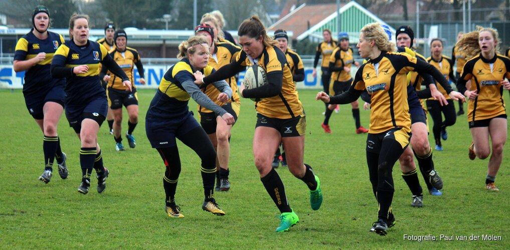 Sophie Touber en Linde Van der Velden naar EK Rugby