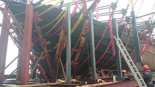 De reconstructie van de IJsselkogge