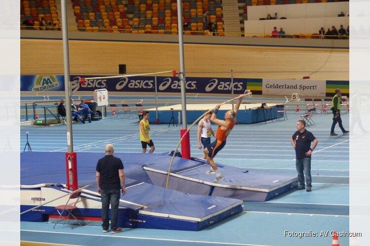 AV Castricum-lid Marc van Vliet wint bronzen medaille op EK Indoor Masters