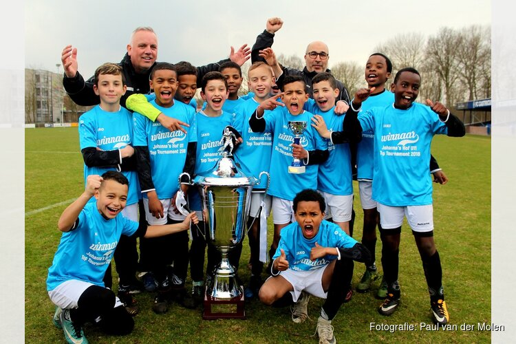 Spartaan '20 winnaar 6e Johanna's Hof U11 Top Tournament