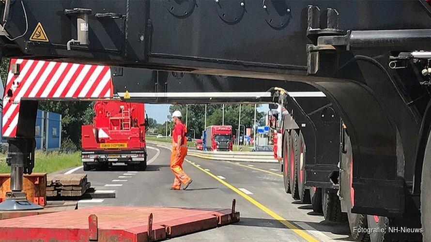 Nieuwe belijning Leeghwaterbrug geeft verkeer meer ruimte tijdens werkzaamheden