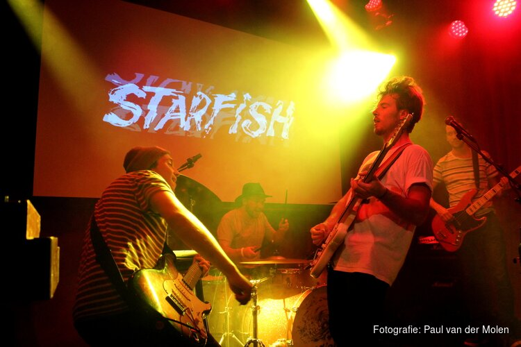 Starfish presenteert nieuwe single en videoclip in Deining Strandpaviljoen