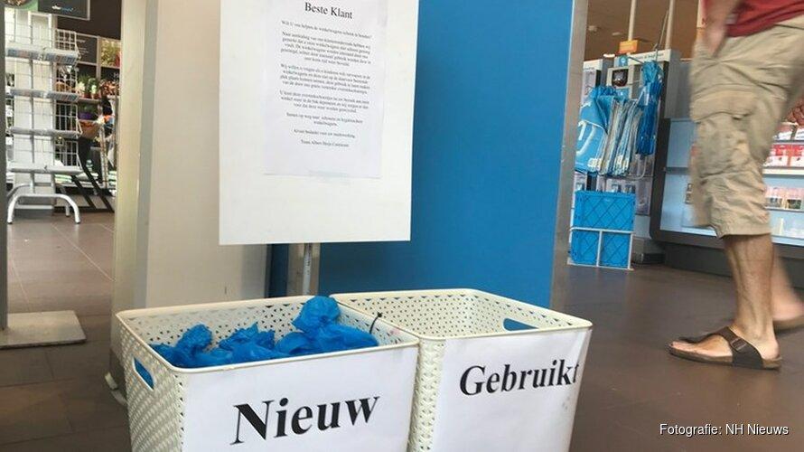 """Castricummers niet blij met 'schoentjesregel' Albert Heijn: """"We zijn gek geworden"""""""