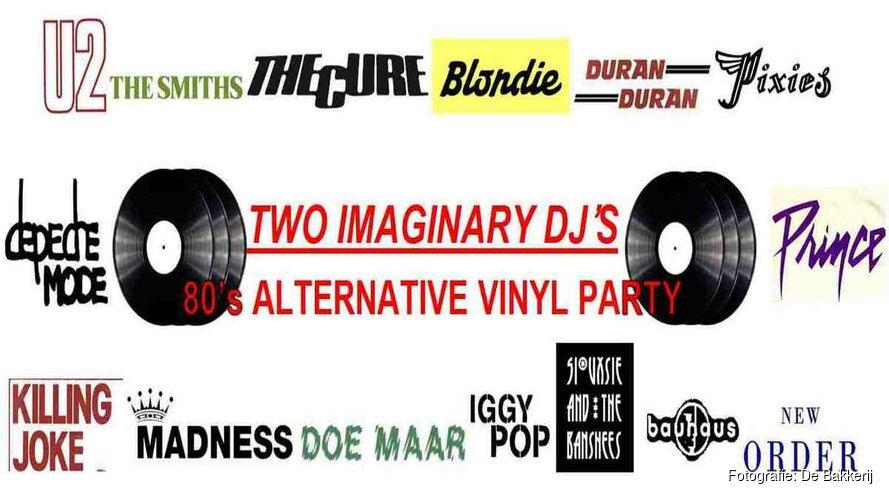 Zaterdag Vinylfeestje in De Bakkerij met Two Imaginary DJ's
