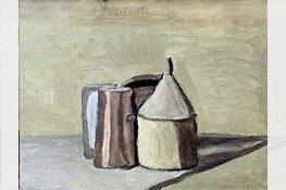 Schilderen geïnspireerd door Morandi op 21 juli