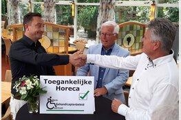 Restaurant Johanna's Hof krijgt eerste keurmerk uitgedeeld