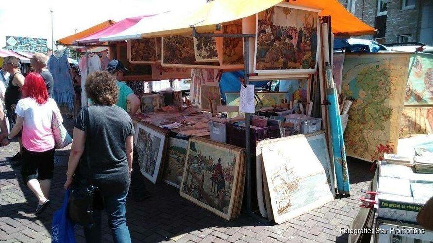Komende zondag laatste ZomerMarkt in centrum Castricum