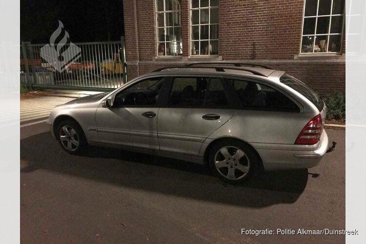 Politie vindt gestolen auto met draaiende motor