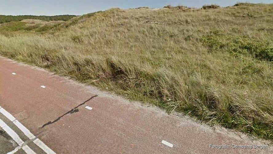 Fietspad naar Hargen aan Zee