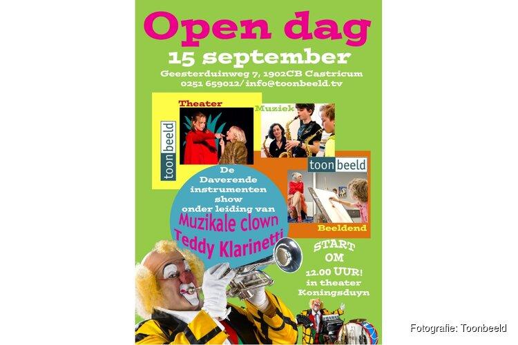 Open Dag Toonbeeld: 15 september