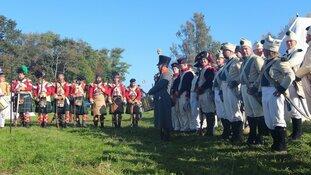 Napoleontisch spektakel voor Hildes Verjaardag