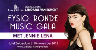 Lamoraal van Egmont brengt  Fysio Ronde Music gala
