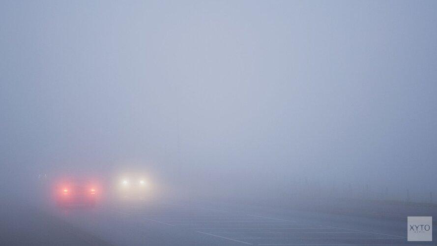 Opgepast! Mist en gladheid op de wegen