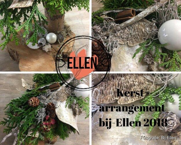 Kerst arrangement bij-Ellen 2018