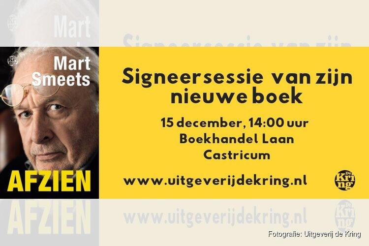 Mart Smeets signeert in Castricum!