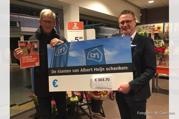 Klanten Albert Heijn Castricum doneren statiegeldbonnetjes