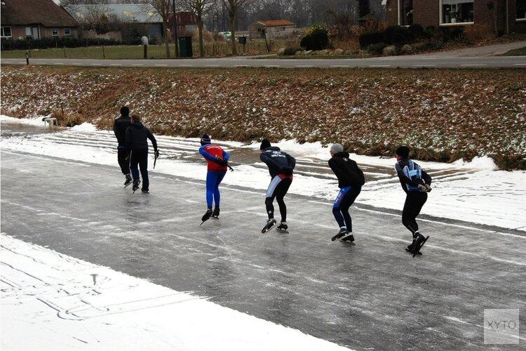 Slijp de schaatsen: vrijdag kunnen we het ijs op