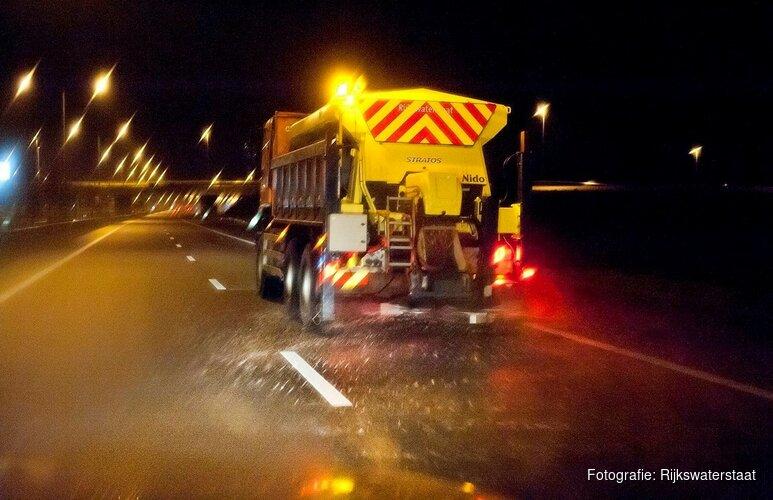 KNMI waarschuwt voor gladde wegen: code geel afgegeven