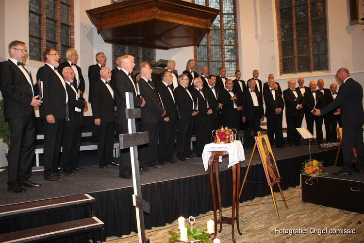 Byzantijnse zang Tweede Paasdag in Castricum