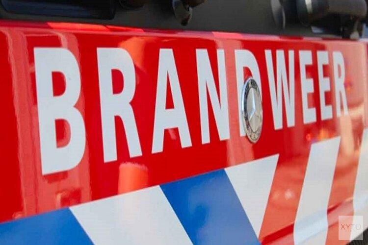 Auto in vlammen op in Castricum