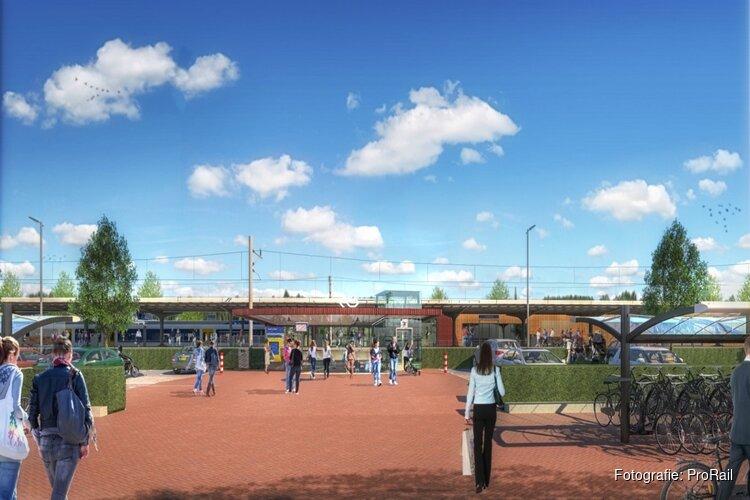 """Verbouwing station Castricum begonnen: """"Straks comfort voor iedereen"""""""