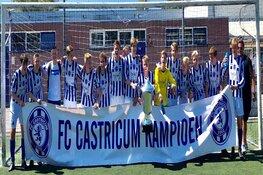 FC Castricum JO17-1 kampioen