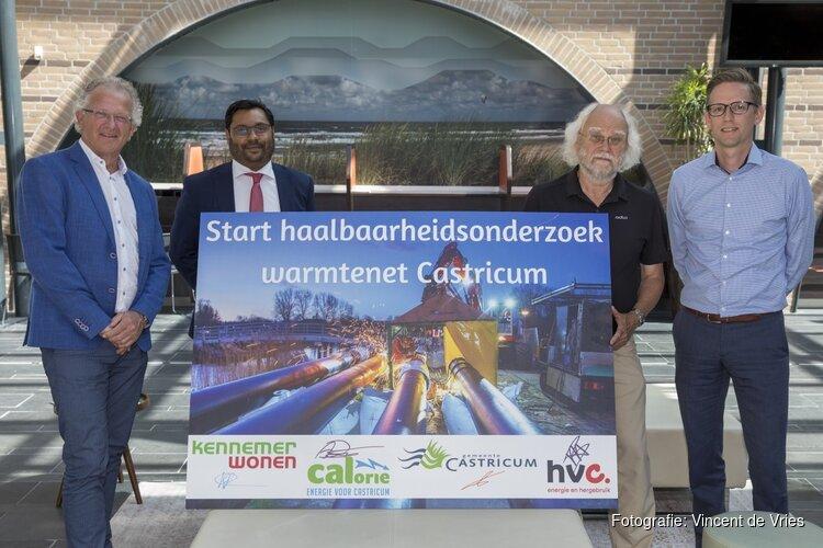 Onderzoek haalbaarheid warmtenet Castricum van start