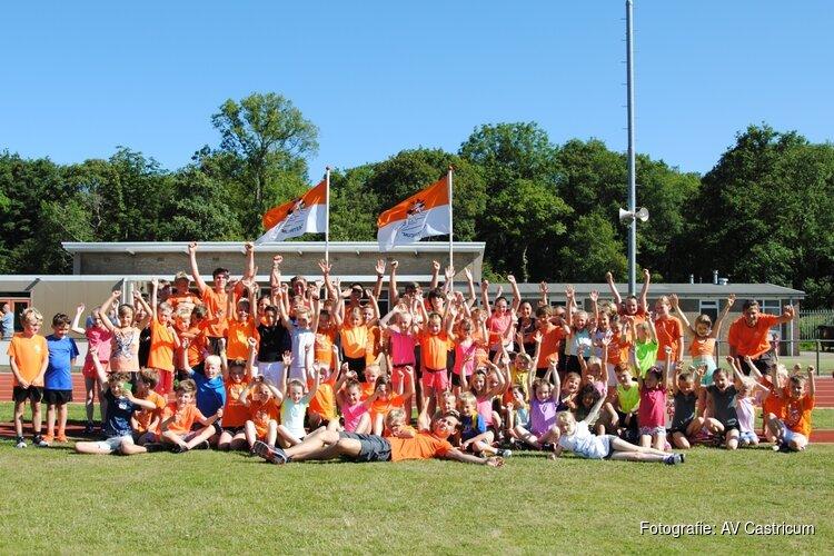 Atletiek Vereniging Castricum bereikt mijlpaal van 100 pupillen