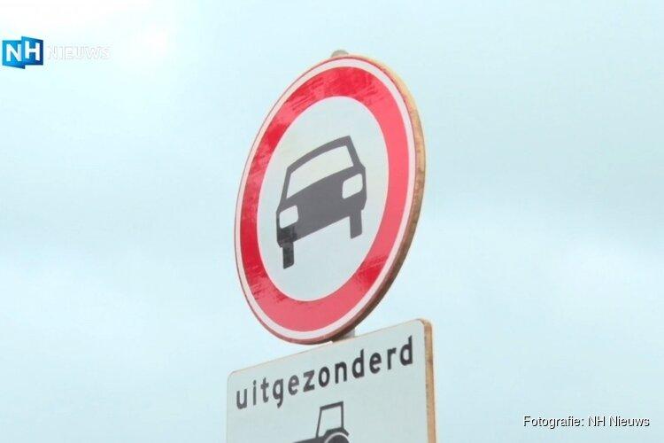 IJmonds burgerinitiatief geslaagd: gevaarlijke dijkweg nu eindelijk autovrij