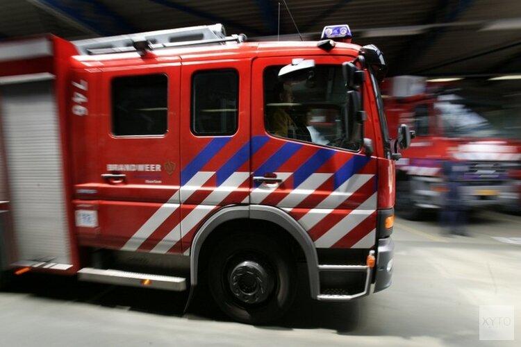 Autobrand in Limmen