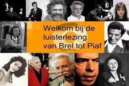 Luisterlezing:  van Brel tot Piaf